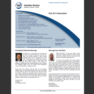 ISA-Hamilton_Newsletter_2013-Fall_front-page
